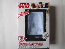 Star Wars Chewbacca Holopane universal Lightbox new and Unopened.