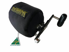 Overhead Fishing Reel Cover Medium Size - padded - Made in Australia -