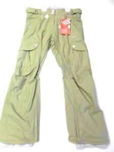 NIKE Women's Hazelnut Cargo Snow Pants - Light Olive - Large - NWT