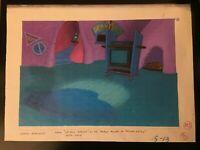 "Vintage 90's ""Angry Beavers"" Nickelodeon Animation Series Background Xerox Art"
