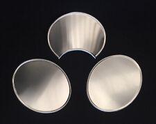 Kit N. 3 Tabelle (1 Centrale Bombata E 2 Laterali Piatte) In Alluminio