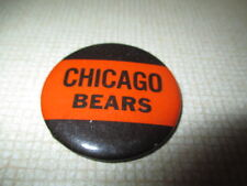 """60s CHICAGO BEARS 1.75"""" Button / Pin"""