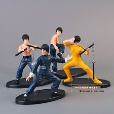 Bruce Lee Action Figure Dragon Kung Fu Master Scale Toys Set S Enter Hot Pvc New