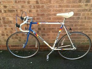 Raleigh Kelloggs Vintage controlled carbon tubing Racer Bike (501?)
