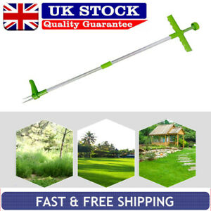 Steel Weed Puller Twister Claw Weed Remover Weeding Root Killer Garden Hand Tool