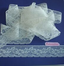 10 Metres of Wide Flat Lace