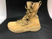 NEW MENS NIKE SFB FIELD 2 8'' MILITARY TACTICAL LEATHER BOOTS AQ1202 900-SIZE 8