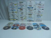Lot of 140 Nintendo Wii Games - Disney Princess, Game Party, Deca Sports