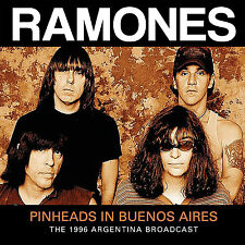 THE RAMONES New Sealed 2017 UNRELEASED BUENOS AIRES LIVE 1994 CONCERT CD