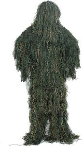 5PCS CAMO GHILLIE YOWIE SNIPER TACTICAL CAMOUFLAGE SUIT Ghillie Suit