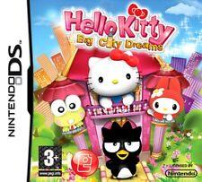 HELLO KITTY BIG CITY DREAMS KIDS GAME NINTENDO DS DS LITE 3DS 2DS DSI 3DS XL