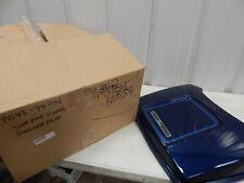 Harley Davidson Sinister Blue Tour-Pak Lid Cover 99-00 FLHTC P/N: 79043-99PN