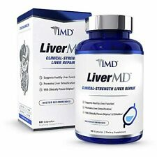 1MD LiverMD - Liver Cleanse Supplement   Siliphos Milk Thistle Extract - Highly