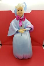 Disney's Fairy Godmother Disney Store Cinderella Classic Doll Wand Light Stain