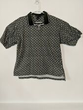 Vintage Nike Golf Polo All Over Print Men's Size Large