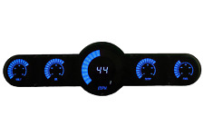 LED Universal Analog Bar Graph 6 Gauge Panel w/ Blue Leds Made in the USA!