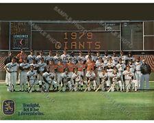 1979 SAN FRANCISCO GIANTS 8X10 TEAM PHOTO