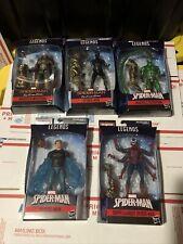 Marvel Legends Spider-Man Molten Man BAF Stealth Mysterio Scorpion Hydro Doppel
