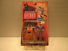 1993 Batman Mask Of The Phantasm Jet Pack Joker Action Figure Toy Capture Nozzle
