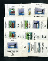 US National Duck Lot of 14 Sheet Stamp Selection
