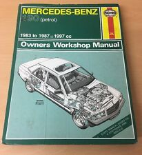 Haynes Reparaturanleitung H928 MERCEDES-BENZ 190 petrol 1983-87 Workshop Manual