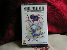 Sony PSP - Final Fantasy IV: The Complete Collection FACTORY SEALED 100% ENGLISH