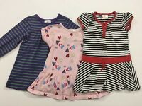 Toddler Girls HANNA ANDERSSON Size 90 3 Lot Dresses