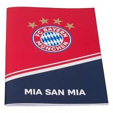 FC Bayern München FCB Hausaufgabenheft Heft A5 offizielles Lizenzprodukt