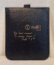 YSL Saint Laurent Y-Mail Black Patent Leather iPad Sleeve, Handbag RARE!!