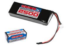 Bateria Lipo RX plana 2500mah 7.4V conector universal Team Orion ORI12260