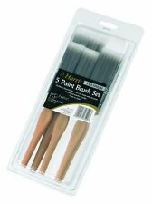 Harris Platinum x 5 Piece Fine Paint Brush Set Advanced Bristles Decorating NEW