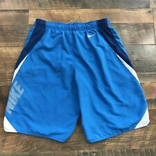 Nike Mens Size Medium M Blue Drawstring Swimwear Swim Trunks Boardshorts