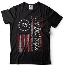 Patriotic t shirts,we the people Flag Shirt, Vintage Usa Flag 1776, Us Flag Tees
