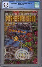 Michaelangelo, Teenage Mutant Ninja Turtle #1 CGC 9.6 NM+ Wp Mirage Comics 1986