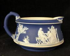 Antique ? Dark Blue Jasperware Creamer ?