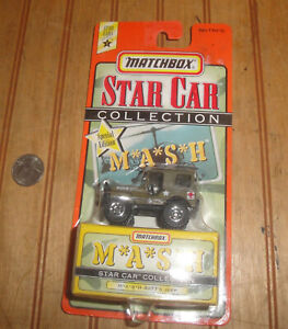 1997 Matchbox Star Car Special Edition 1:64 Diecast Series 1 MASH 4077's Jeep