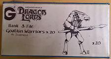 Grenadier Fantasy Lords - 338 Goatkin Warriors x 20 Battleset (Mint, Sealed)