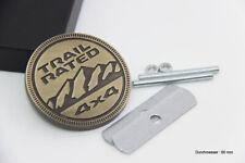 B439 Trail Raed 4x4 Emblem Kühlergrill Badge auto aufkleber car Sticker Bronze