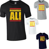 Muhammad Ali T-Shirt Boxing Legend Champion Fighter Men's Gym Workout Fitness