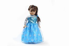 Hot sell fashion clothes dress for 18inch American girl doll party b125