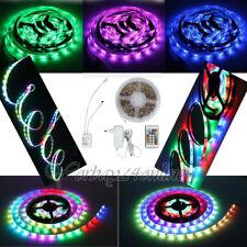 Yorbay 5m LED RGB Lauflicht 1003 IC leiste Lichterkette Lichtschlauch
