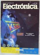 REVISTA ESPAÑOLA DE ELECTRÓNICA - Nº 518 ENERO 1998 - 82 PÁGINAS - VER SUMARIO