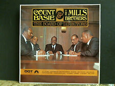 COUNT BASIE & MILLS BROTHERS  Board of Directors   LP stereo UK   NEAR-MINT !