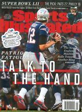 January 29, 2018 Tom Brady New England Patriots REG. Sports Illustrated NO LABEL