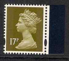 GB 2009 sg Y1770 17p litho 2 bands Navy Uniforms booklet stamp MNH ex Y1749n