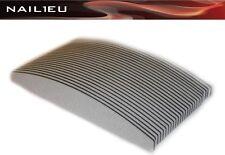 20 x HALBMOND Feilen 150/150 zebra, 30mm/180mm / Trapez Trapezfeilen Nagelfeilen