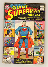 Superman Annual #1 - An All-Star Collection of Stories - 1960 (Grade 3.0) WH
