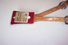 WESTERN HERITAGE SPUR STRAPS BASKET WEAVE STAMP ADULT