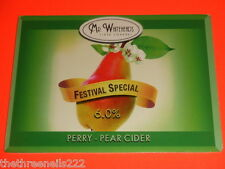 BEER PUMP CLIP - FESTIVAL SPECIAL PERRY - PEAR CIDER