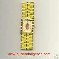 Hip Hop Bling Bling Macho Style Gold Tone Watch cream face-S/S